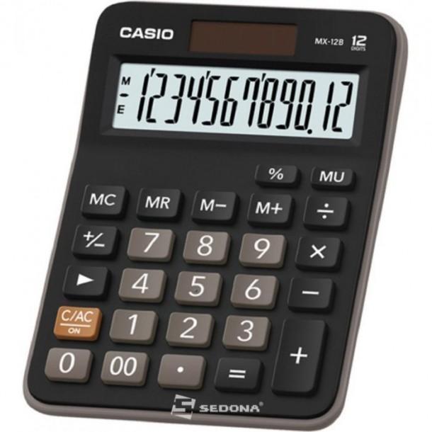 Calculator de birou Casio MX-12B, 12 digits