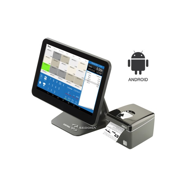 POS All-in-One Android Custom Silk 13.3""