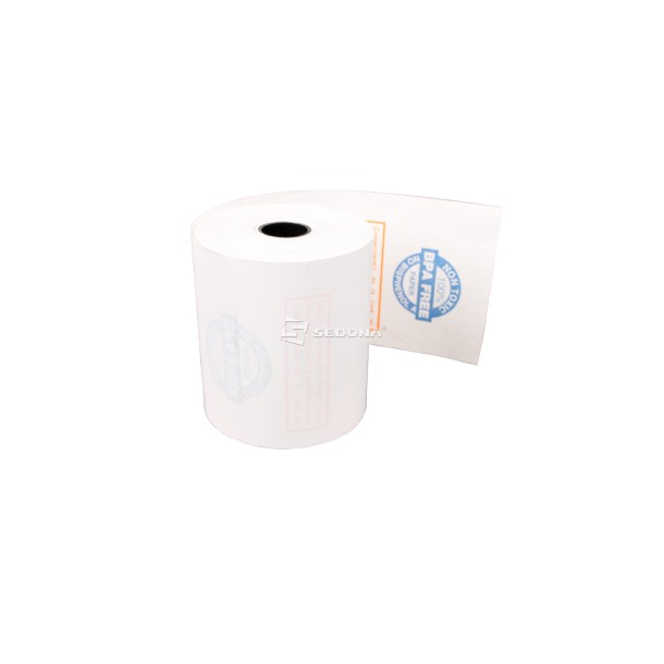 Thermal roll for POS printer, 57mm wide 30m long