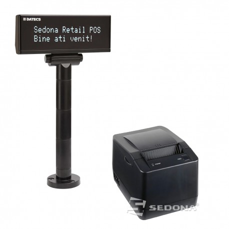 Imprimanta fiscala Datecs FP800 cu jurnal electronic si display client