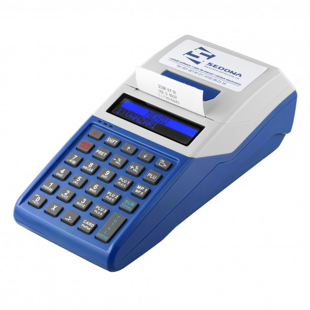 Cash Register with Electronic Journal Datecs WP50 with battery included