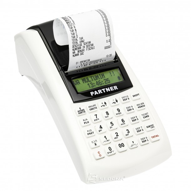 Casa de marcat portabila cu jurnal electronic Partner 200 WiFi cu acumulator