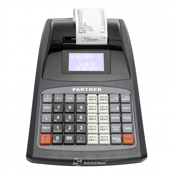 Cash Register with Electronic Journal Partner 600