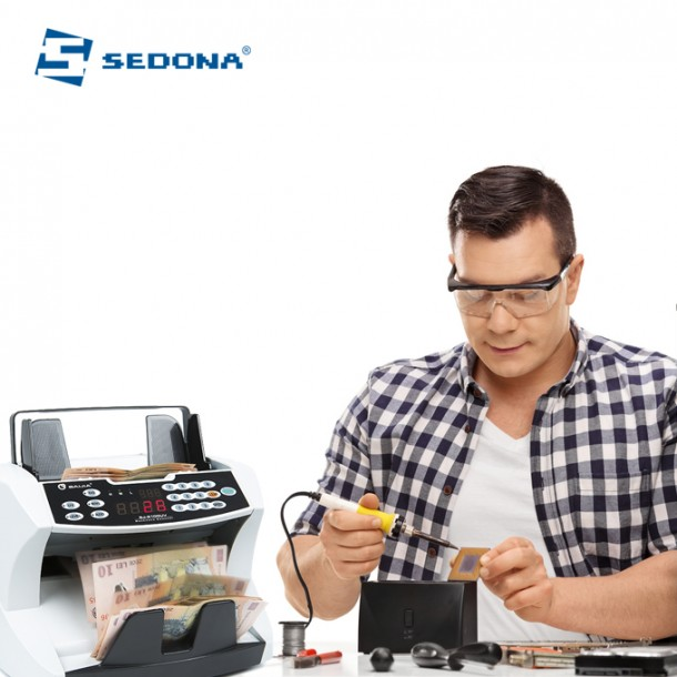 Cleaning and Adjustments for Counting Machine