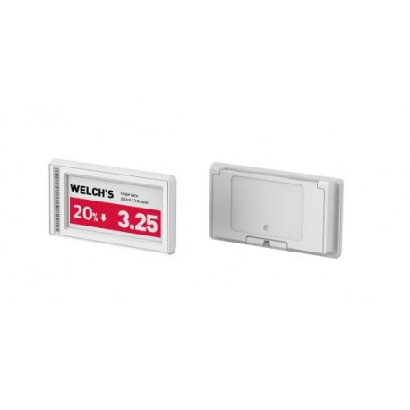 "Eticheta 2.2"" Full Graphic - Black - White color - (no NFC)"