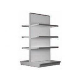Metal gondola shelf