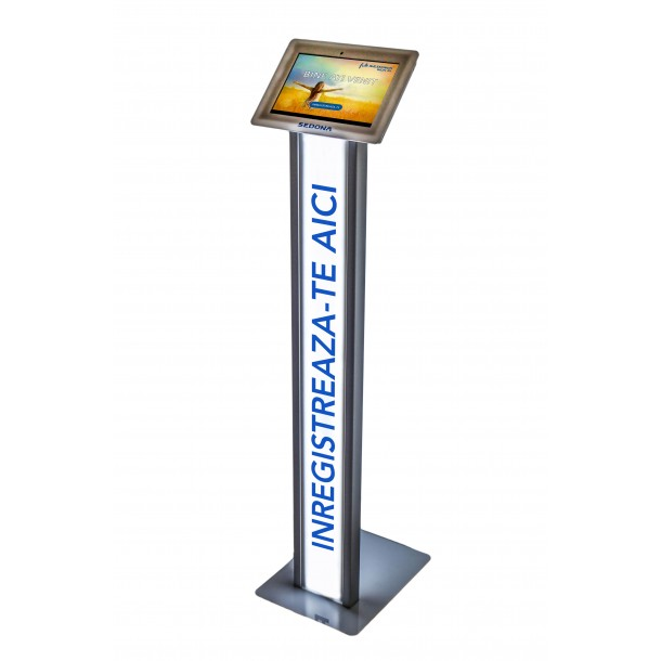 Sedona SIGN IN System, with Tablet and Stand