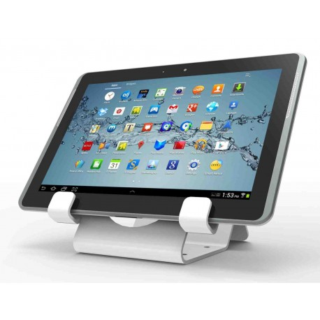 Universal tablet lock stand/tablets and smartphones