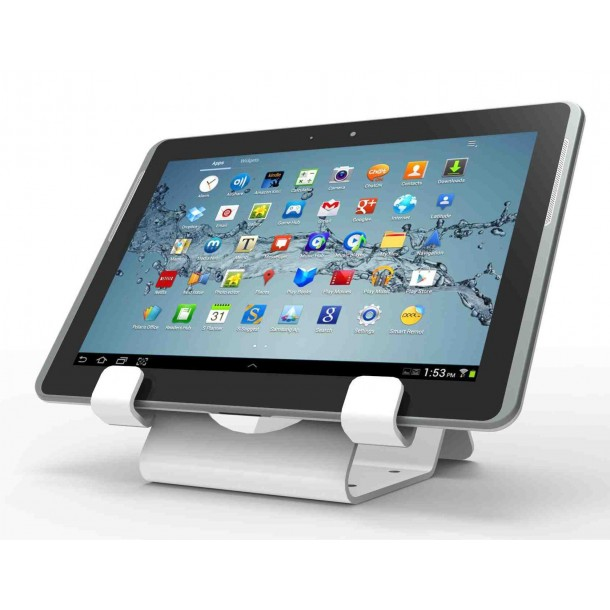 Universal tablet lock stand