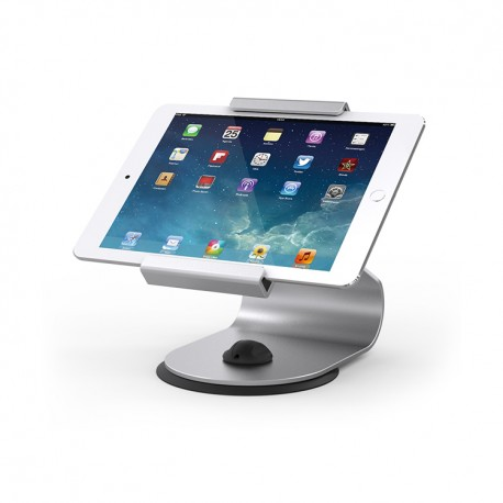 Stand Maken for tablet, rotative, silver