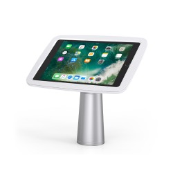 Stand Maken for IPAD tablet, rotative, silver
