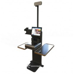 Sedona Self-Checkout with Datalogic Scanner and 15 kg Scale