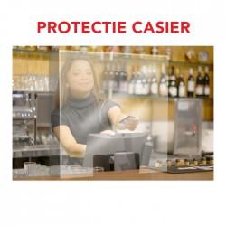 Protectie virusi si bacterii pentru casier – Laterale fixe