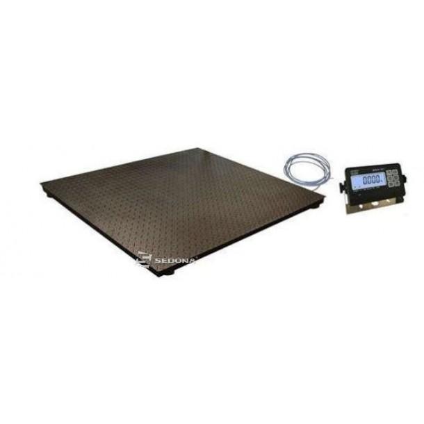 Cantar platforma KPZ 125x125cm 600/1500/2000kg