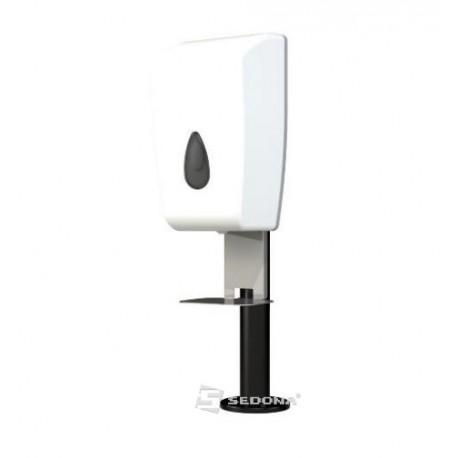 Desk Stand with Hand Sanitizer Dispenser SN