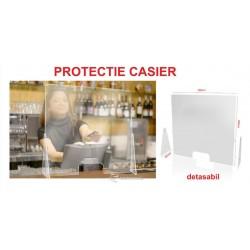 Protectie virusi si bacterii pentru casier – Laterale demontabile