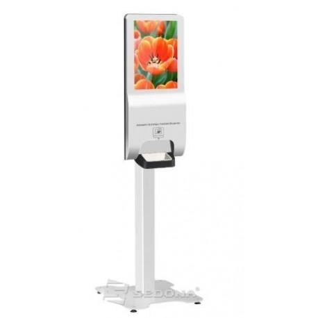 "Kiosk HD 22"" cu dozator dezinfectant cu senzor"