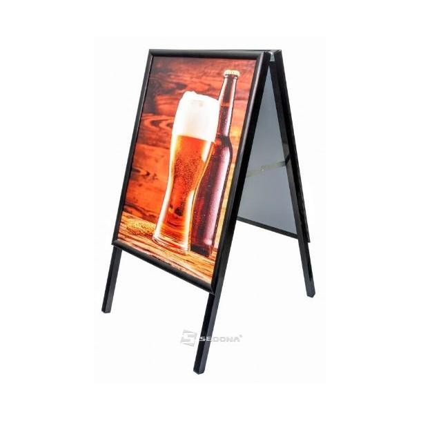 People Stopper 25 Board, 500 x 700mm black
