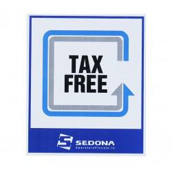 Tax Free Sign