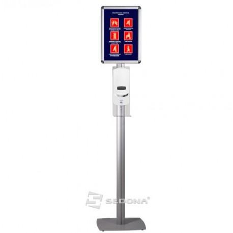 Stand de podea cu dispenser automat si rama click A3 – Superior – IB390P