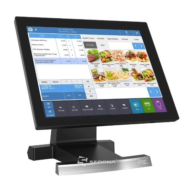 """POS All-in-One P2C J200, 15"""""""