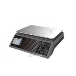 Cantar comercial Aclas PS1C fara brat, 15/30 kg, conectare RS232 - baterii