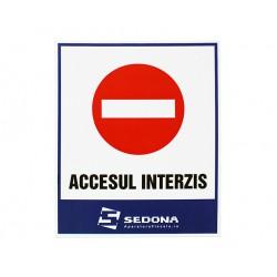 No Access Sign