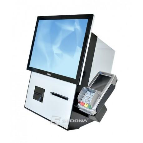 Kiosk Aures Jazzsco cu imprimanta, scanner 2D si Windows 10