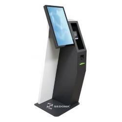 Self-checkout Aures Kosmos cu imprimanta, scanner 2D si Windows 10