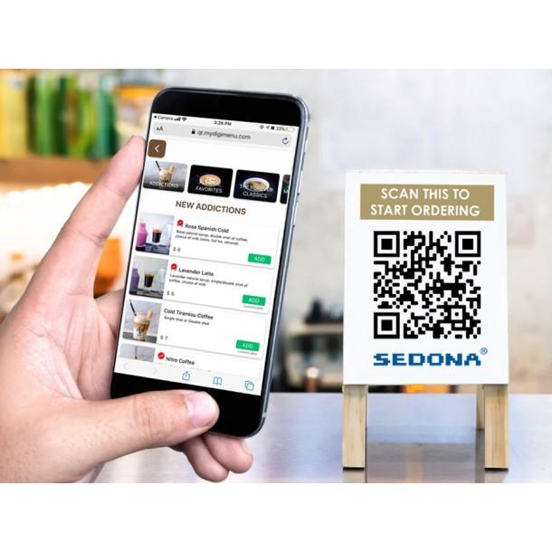 Sedona Menisto – Meniu QR Code pentru Restaurante