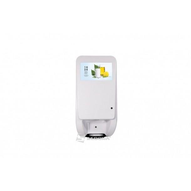 Infokiosk touchscreen DSD1160A cu dispenser dezinfectant automat