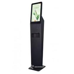 Infokiosk DSD2150AF cu dispenser dezinfectant automat