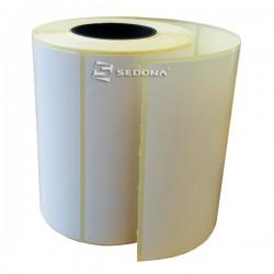 Rola etichete autocolante, direct termice, 100 x 56 mm (1000 et.)