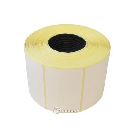 Rola etichete autocolante, direct termice, 60 x 37 mm (1000 et.)