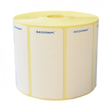 Rola etichete autocolante, direct termice, 56 x 25 mm (1000 et.)