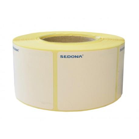 Rola etichete autocolante, direct termice, 40 x 46 mm (600 et.)