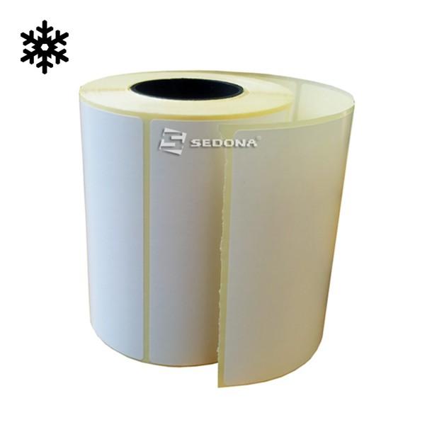 Rola etichete transfer termic rezistente la frig 58 x 43 mm (1000 et.)