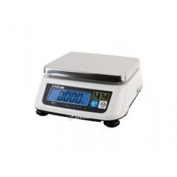 Cantar de verificare Cas SW-II 15 kg RS232, display client, cu verificare metrologica