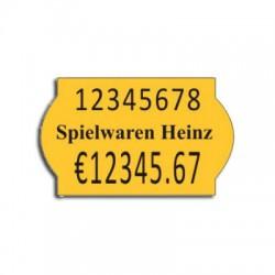 Etichete pret 26 x 16 mm color
