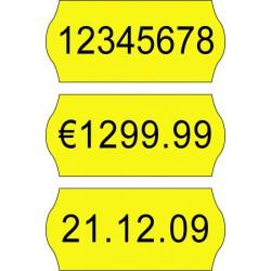 Price label gun 26 x 12 mm color labels