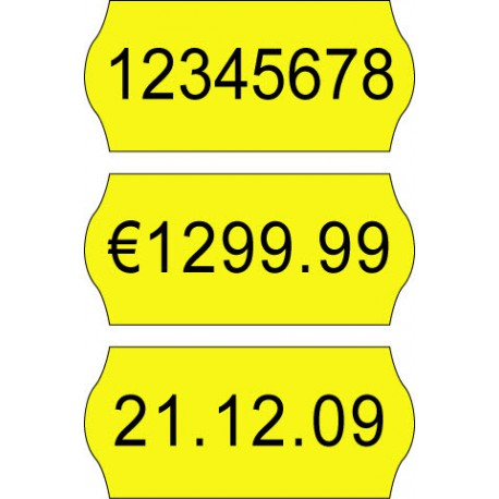 Etichete pret 26 x 12 mm color