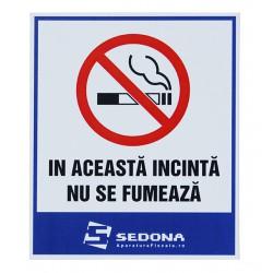 Placuta In aceasta incinta nu se fumeaza