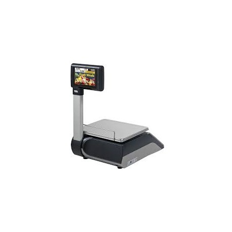 Labeling Scale Dibal D-955 With Pole