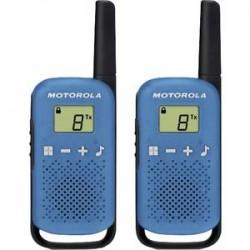 Walkie Talkie Motorola T42 Albastru/Rosu (2 bucati)