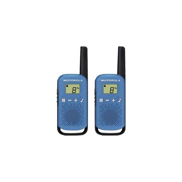 Walkie Talkie Motorola T41 Blue/Red (2 pieces)