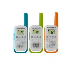 Walkie Talkie Motorola T42 3 pieces)