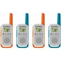 Walkie Talkie Motorola T42 (4 pieces)