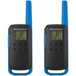 Walkie Talkie Motorola T62 Albastru/Rosu (2 bucati)
