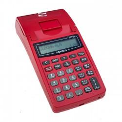 Casa de marcat portabila Datecs DP05 rosie