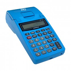 Cash Register with Electronic Journal Datecs DP05 blue